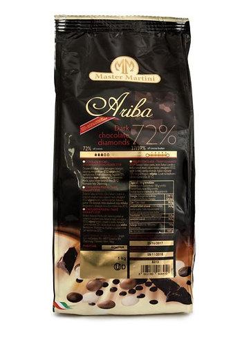 Hořká čokoláda  (72%) ARIBA DIAMONDS 1kg