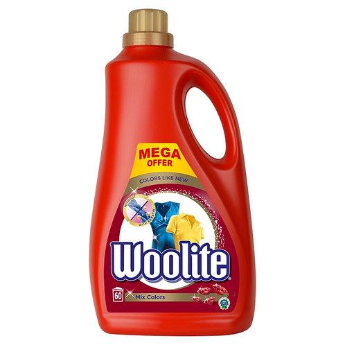 Woolite Mix Colors tekutý prací přípravek 60 praní 3,6l