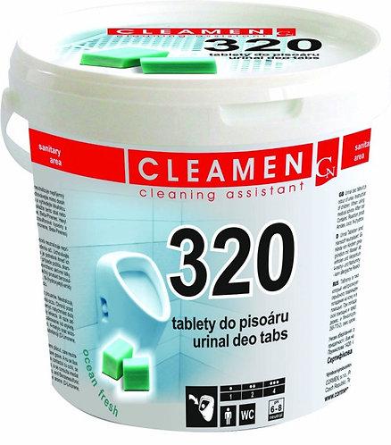 Tablety do WC pisoárů 1,5kg Cleamen