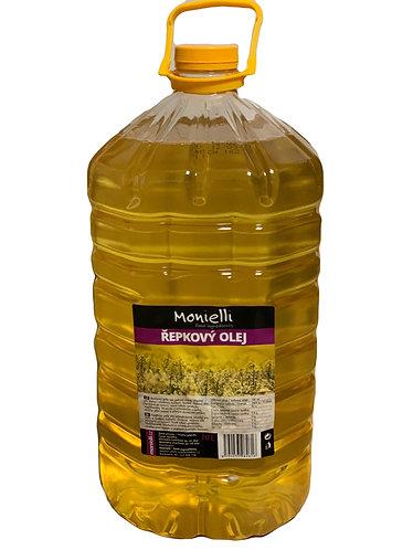 Olej řepkový MONIELLI barel 10l