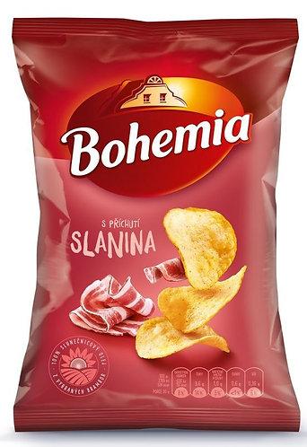 Bohemia Chips s příchutí slanina 70g