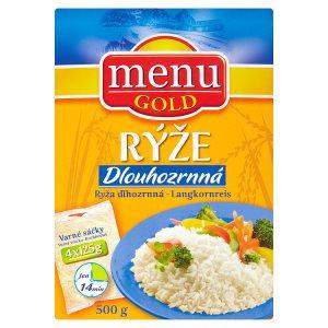 Dlouhozrnná rýže loupaná (4 x 125 g)