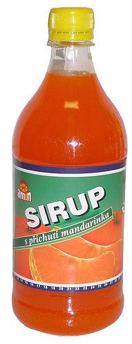Mandarinkový sirup - 0,7l