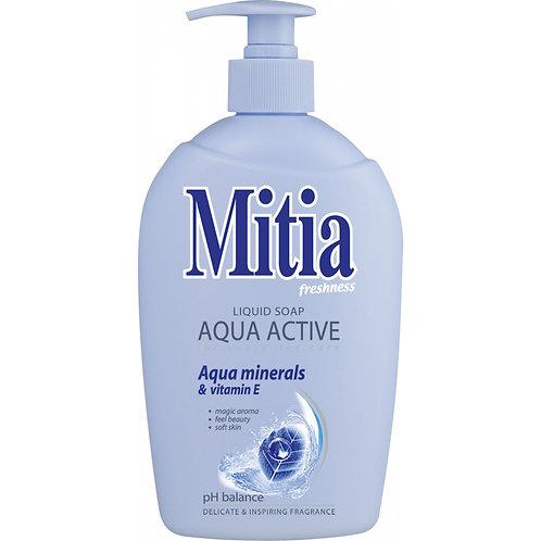 Mitia Aqua Active tekuté mýdlo, 500 ml