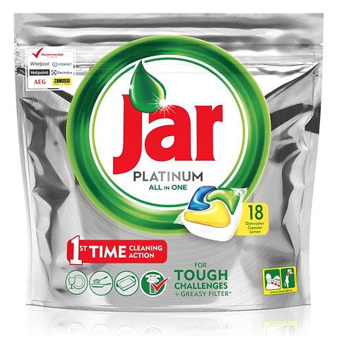Jar tablety do myčky platinum 18ks
