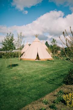 Tipi Hire North Yorkshire - tipi wedding