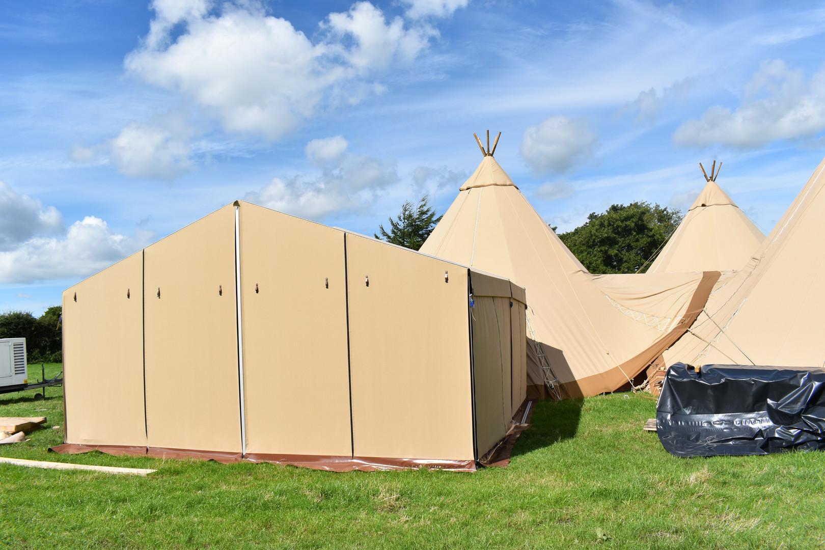 6mx4.5m catering tent