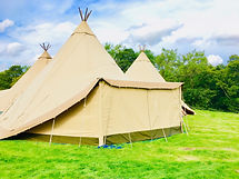Tipi Hire North Yorkshire - Tipi Extensi