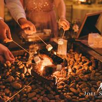 Tipi Hire North Yorkshire - toasting mar