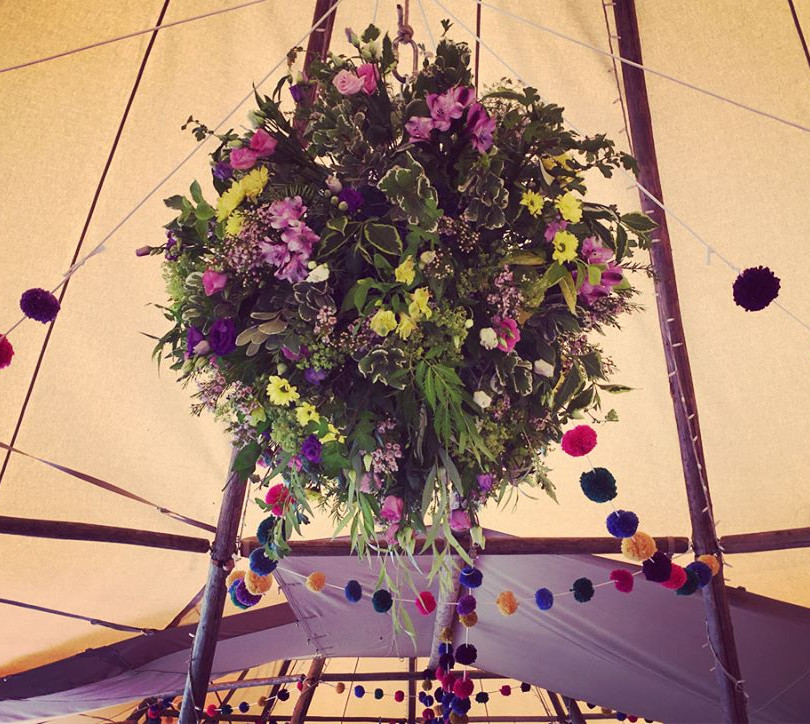 Colourful Floral Hanging