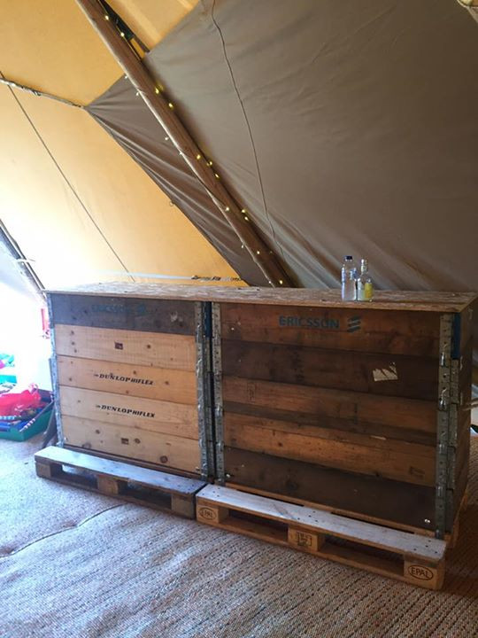 Our Pallet Bar
