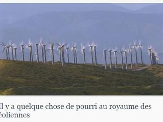 """""""Il y a quelque chose de pourri au royaume des éoliennes """""""
