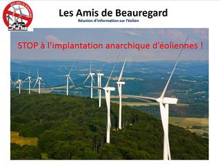 Première réunion d'information à Pouilley Francais