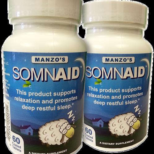 Somnaid Sleep Aid Twin Pack