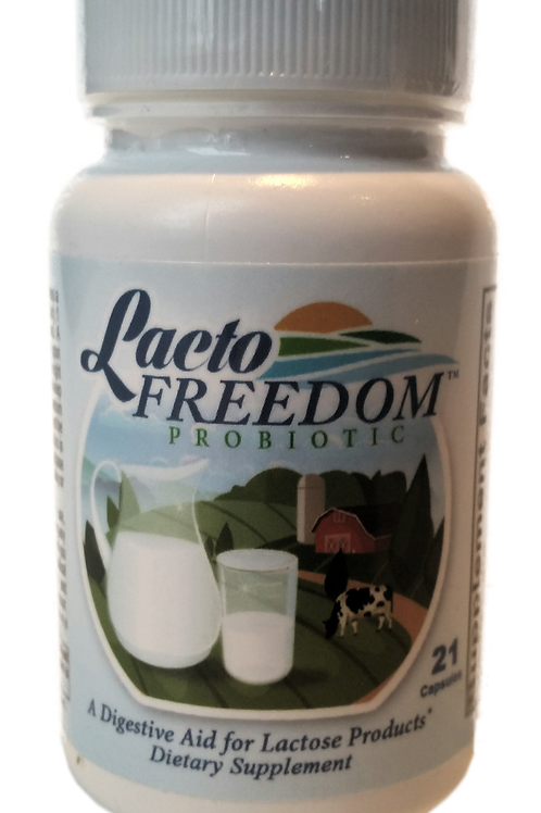 Lacto-Freedom Probiotic - 24 Bottles (Case) SAVE $200