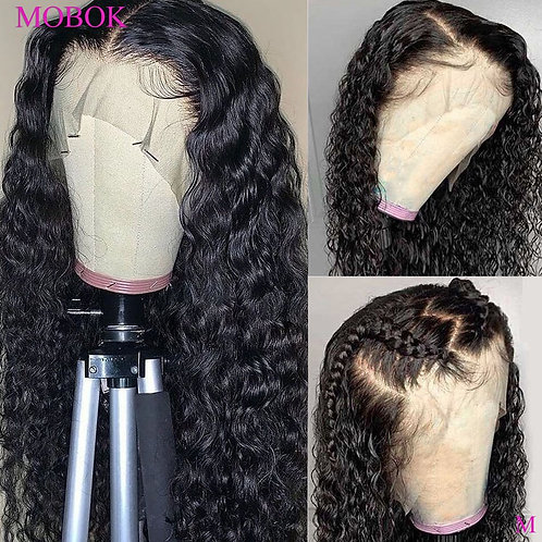 Curly Hair Wig Remy 13X4 Lace Front Human Hair Wigs Brazilian Curly Lace Wigs