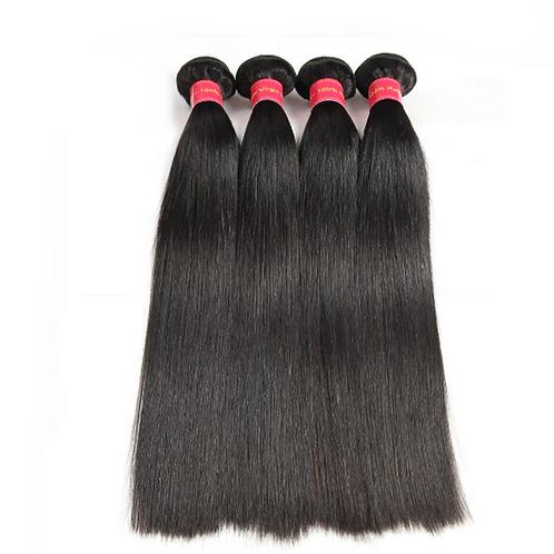 Brazilian Straight Hair Extension, 4 Bundles/lots