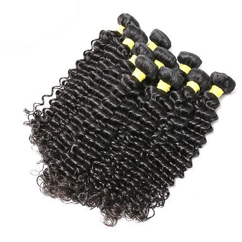 Wholesale Brazilian Kinky Curly Hair Extension,10 Bundles/lot