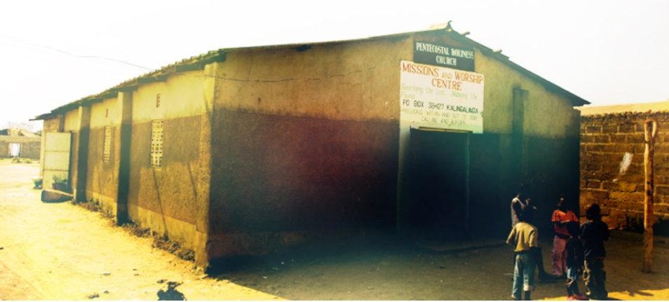 First Orphan Sunday church in Zambia