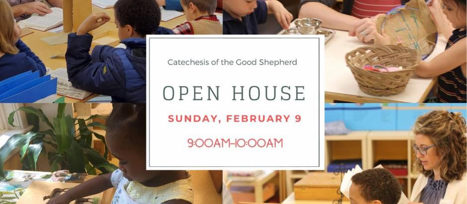 Catechesis of the Good Shepherd Winter Open House - Sunday, February 9