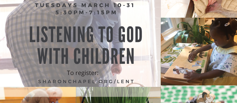 Parent-Toddler Lent Series