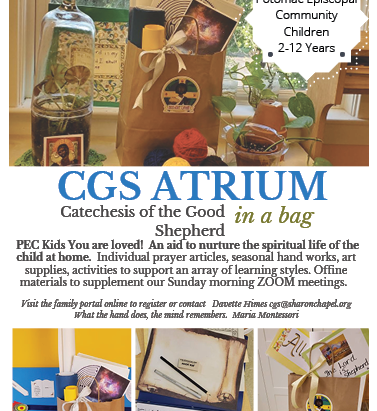 Kid's Christian Formation @ Home! - Atrium in a Bag