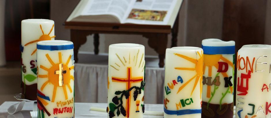 Dates announced: 2020 CGS Solemn Communion Class