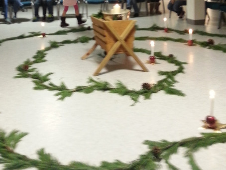 Family Advent Spiral Walk -- CANCELED
