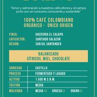 Café orgánico de San Gil molido