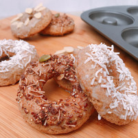 Donuts con crema de nueces