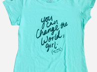Camiseta You Can change the world
