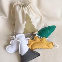 Accesorios decorativos en algodón