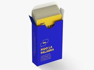 PIDO LA PALABRA: Juego de cartas