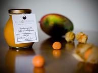 Mermelada mango uchuva y hierbabuena