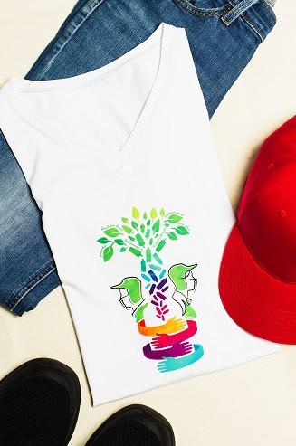 Camisa de botellas PET, subsidea un traje de bioseguridad y mercado a recicladores