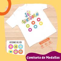 Camiseta de Medallas