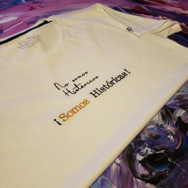 Camiseta algodón orgánico Somos Históricas