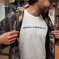 Camiseta algodón orgánico Humanx Antipatriarcal