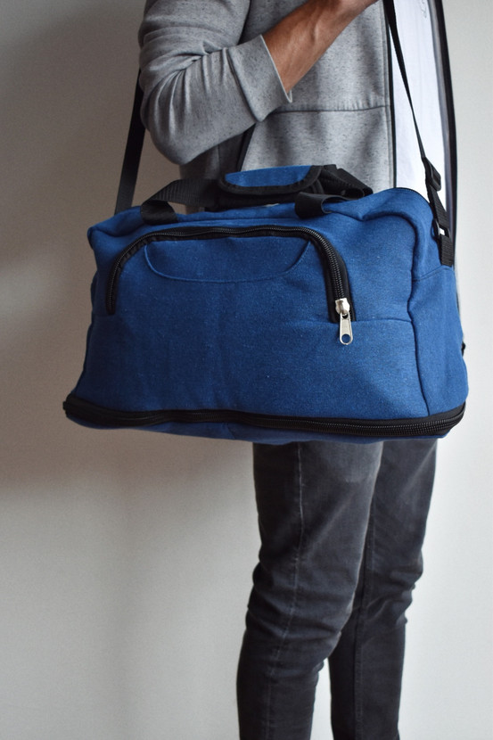 Duffle bag azul