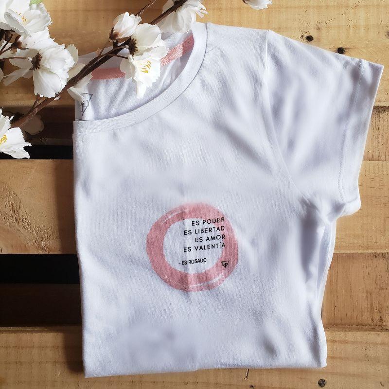 Camiseta Rosado & Poder