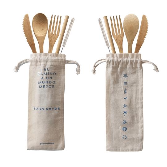 Kit de Bambú, no más Plastico
