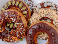 Donuts con chocolate