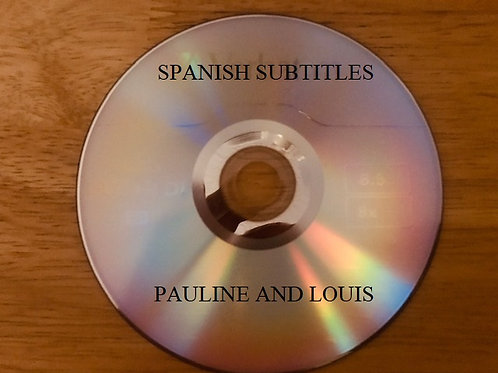 Pauline and Louis DVD. Includes Spanish Subtitles
