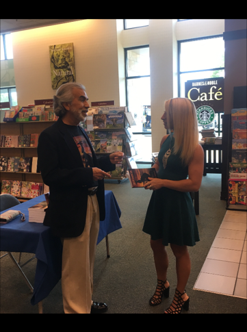 Barnes and Noble Bok Signing