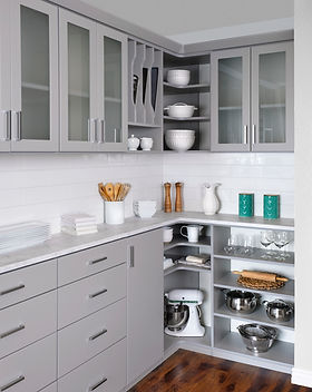 Walk In Kitchen Pantry by Amazing Closets and More