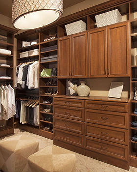 Walk In Closet by Amazing Closets and More