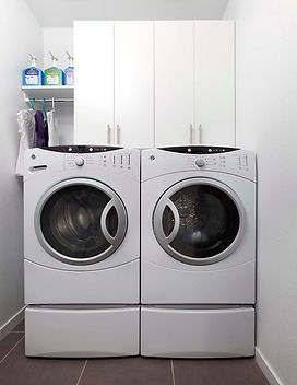 Laundry Room Cabinets by Amazing Closets and More