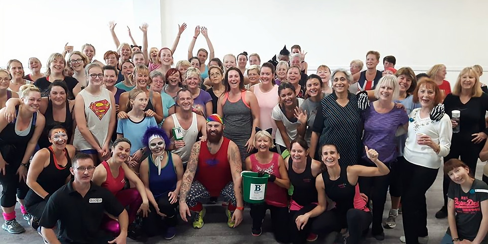 Fit'n'Mix-athon Charity Fundraiser