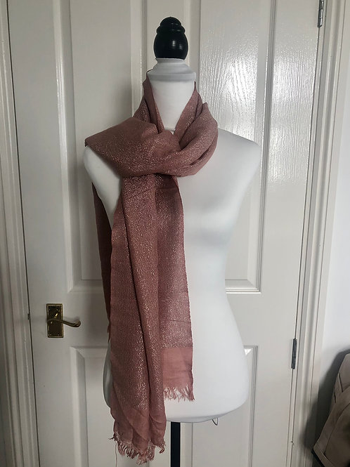 Closet by Lo shimmery scarf