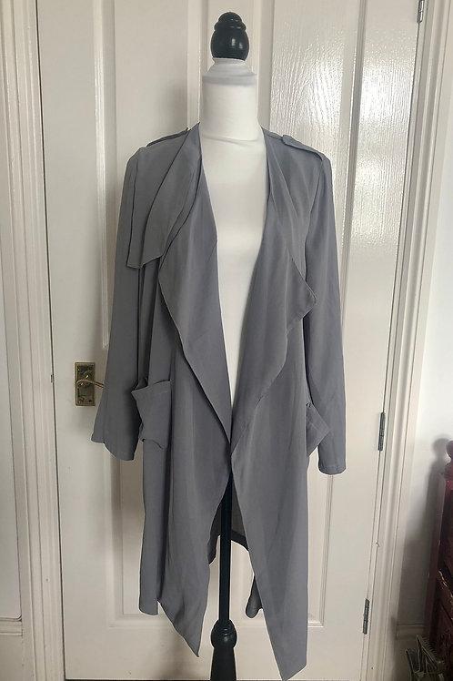 Boohoo grey jacket